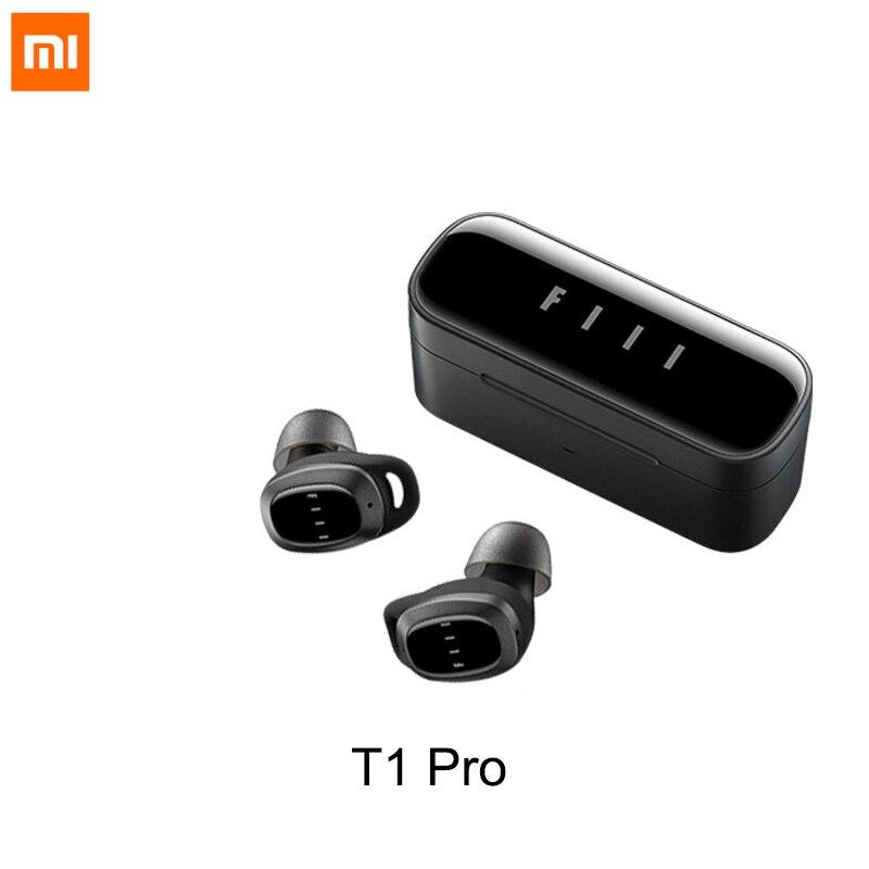 Xiaomi електронный T1 Pro Наушники-вкладыши TWS True Wireless Bluetooth 5,2 наушники ANC + ENC подавление шума 32 часов Время в режиме ожидания поддерживает беспров...