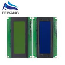 10Pcs 20X4 Lcd Modules 2004 Lcd Module Met Led Blauwe Achtergrondverlichting Witte Karakter/Geel Groen
