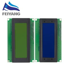 Image 1 - 10pcs 20x4 LCD Modules 2004 LCD Module with LED Blue Backlight White Character/Yellow green