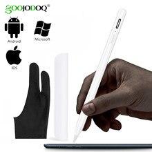 GOOJODOQ Stylus Stift Touch Für Apple Bleistift iPad Pro Air 2 3 Mini 4 Stylus Stift für Samsung Huawei Tablet iOS/Android Handy