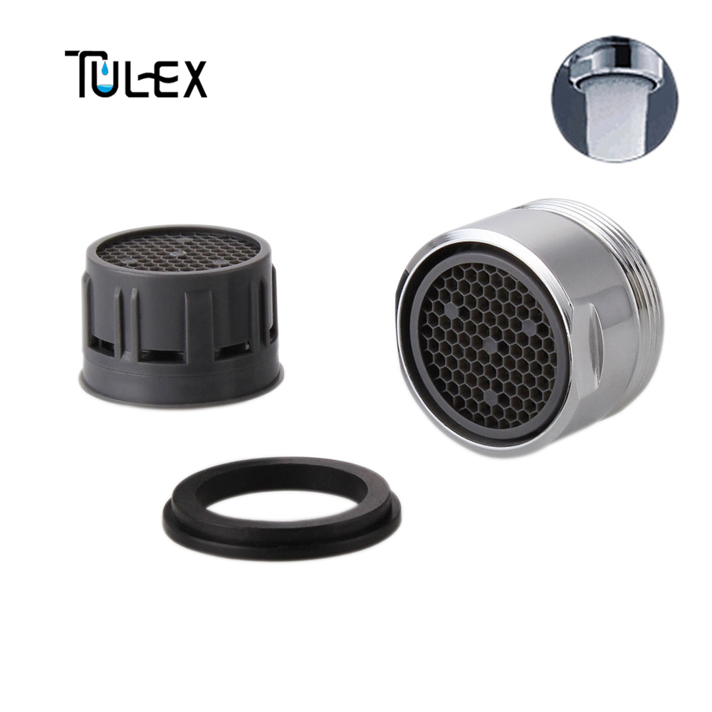 TULEX Faucet Aerator 28MM Male Thread Tap Bubbler Spout Filter Crane Nozzle Attachment Full Flow Accessories For Bathroom