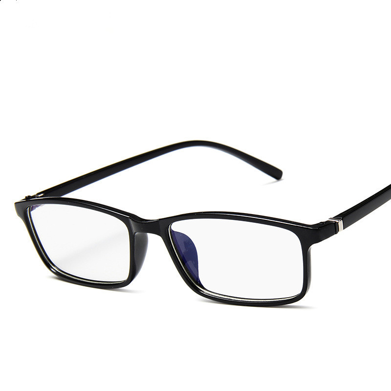Polygonal glasses/ / / anti-blue radiation eye black square