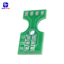 Diymore Sensor Kelembaban Suhu SHT10 SHT11 SHT15 Papan PCB 2.54 Mm Adapter Plate(China)