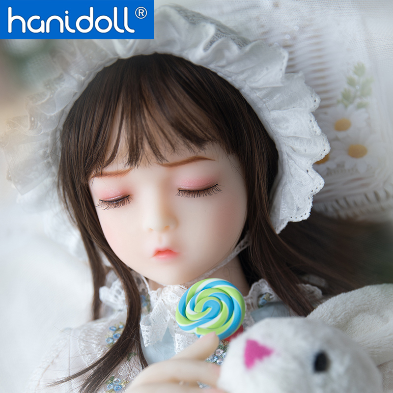 Hanidoll 100cm Mini Silicone <font><b>Sex</b></font> <font><b>Doll</b></font> Love <font><b>Doll</b></font> Realistic Vagina Oral Anal Breast Full Sized Metal Skeleton Masturbator <font><b>Sex</b></font> <font><b>doll</b></font> image