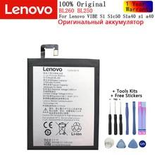 Оригинальный телефон Lenovo BL260 BL250 для Lenovo VIBE S1 S1c50 S1a40 перезаряжаемый литий-ионный аккумулятор встроенный мобильный телефон литий-полимерная ...