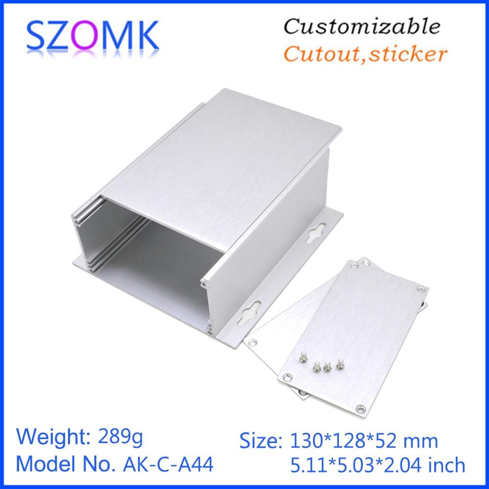 szomk aluminum enclosure for electronics device housing for pcb design audio aluminum control box enclosure casing (12)