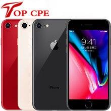 IPhone 8, 8P & 8 plus originaux, téléphone portable Apple avec empreinte digitale, touche ID, Hexa core 3D, LTE, WIFI, 12.0MP, 64 Go/256 Go, 4,7/5,5 pouces