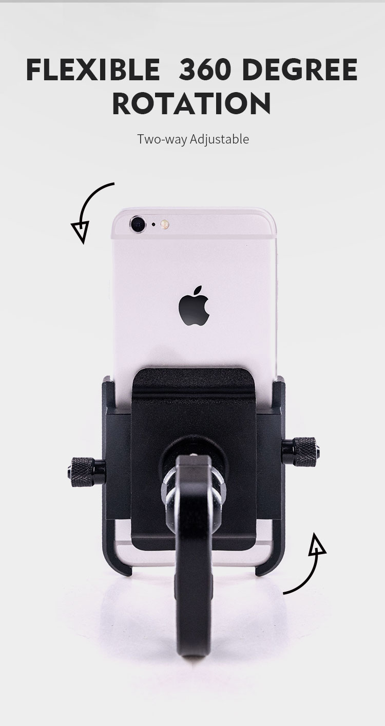 Motorcycle Mobile Phone Holder Suitable for Bicycles/Motorcycles/Electric Vehicles/Scooters 11