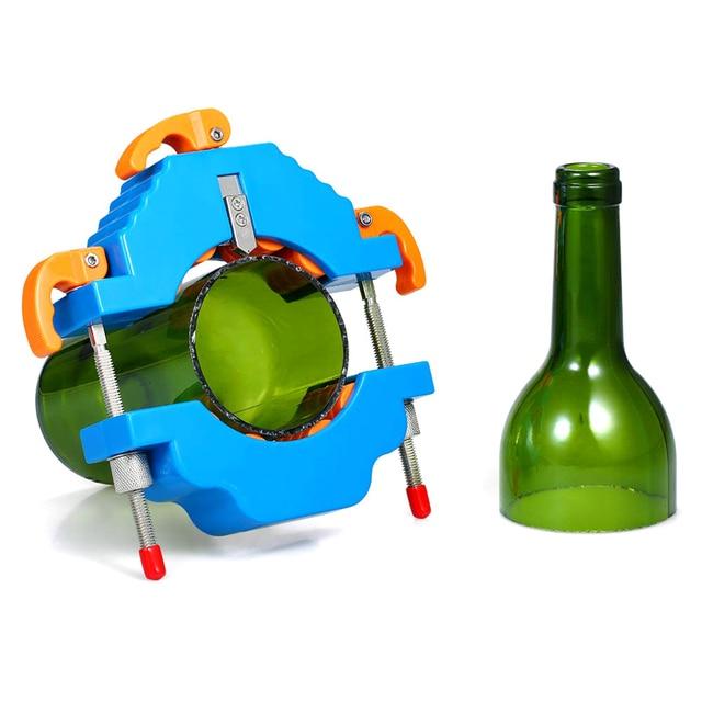 מתכוונן DIY לחתוך כלים מכונת זכוכית בקבוק חותך זכוכית 2mm כדי 12mm יין בירה צנצנת מיחזור חיתוך כלי אמנות קרפט Diy
