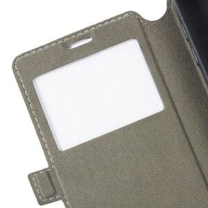 Image 4 - حقيبة هاتف من الجلد المصقول ل OPPO تجد X3 برو المريخ استكشاف طبعة الوجه حافظة عرض نافذة كتاب غطاء خلفي سيليكون ناعم