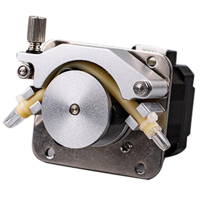 0.5-13Ml/Min Peristaltic Pump Stepper Motor Self-Priming Viscous Pump Liquid Pump Silent Automatic Circulation Pump
