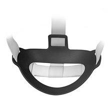 Para oculus quest 2 bandana almofada removível profissional vr fones de ouvido almofada tpu pressão-aliviar a fixação quadro para quest2