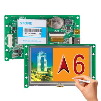 4.3 Inch HMI Display Module TFT LCD Touch Screen RS232 TTL Module for Industrial Control industrial display lcd screen10 4 inch lq104s1lh01 lcd screen