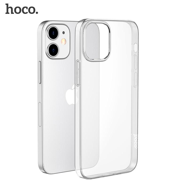 HOCO оригинальный прозрачный мягкий ТПУ чехол для iPhone 12 12 Pro Max прозрачный защитный чехол ультра тонкая защита для iPhone 12 mini