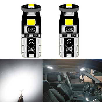 2x Car Interior Lights T10 LED W5W Canbus Bulb Car Led Light Car Reading Lights for Mazda cx-5 323 3 2010 2005 2015 6 2004 3 bl image