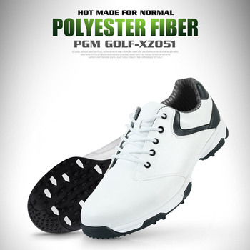 Waterproof Breathable Outdoor Sports Men Shoes Anti-Skid Light Good Grip Leather Golf Shoes  &T8