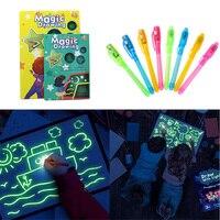Desenhe com luz desenvolvendo tablet desenho placa graffiti escrita para crianças crianças nc99