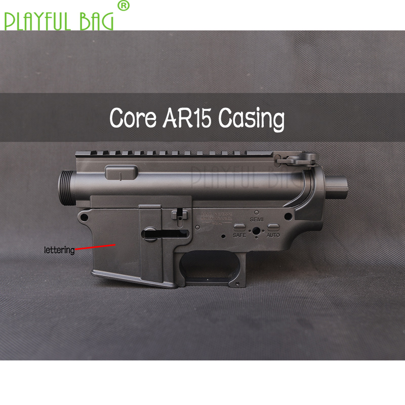 Playful Bag CS Toys Core AR15 M4a1 High Quality Nylon Casing Water Bullet Gun Store Tactical DIY Toys Parts OB30