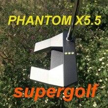 Novo oem qualidade putter phantom x5.5 putter golfe com 32/33/34/35/36 polegada headcover phantom x 5.5 clubes de golfe