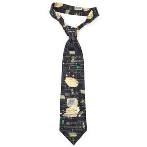Image 3 - משלוח חינם חדש זכר גברים של מקורי עיצוב כיף נשי מחשב דקורטיבי חולצה מגמת אישית הדפסת עיצוב אירופה ncktie