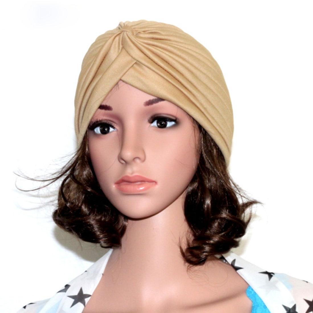 Хиджаб шарф тюрбан шапка s мусульманский головной платок Защита от солнца Кепка Женская хлопковая мусульманская многофункциональная тюрбан платок femme musulman - Цвет: 18