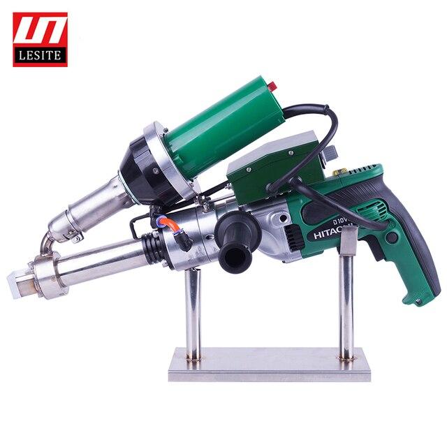 พลาสติกExtrusionปืนเชื่อมพลาสติกExtrusionเครื่องเชื่อมPP HDPEมือเชื่อมExtruder Hand Extruder LESITE LST600A