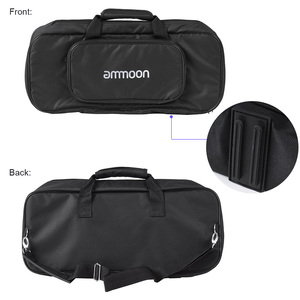 Image 4 - ammoon DB 2 Portable Guitar Pedal Board Aluminum Alloy with Carrying Bag Tapes Straps guitar accessories guitar pedal bag