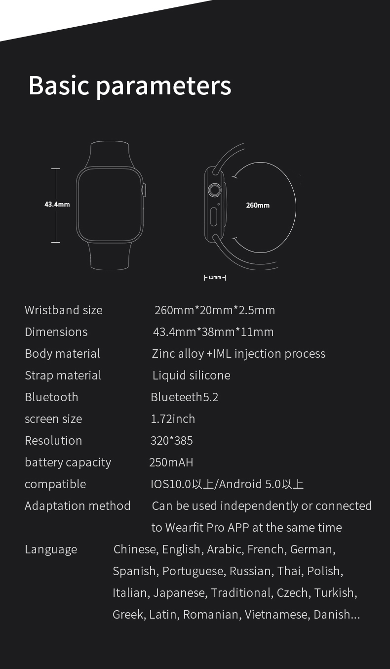 Hd4987e06b4574602843d46b76d72eff6k Original HW16 44mm Smart Watch Series6 Men 320*385 Screen Custom Picture Smartwatch Women BluetoothCall 2021 pk FK88 IWO13 W46