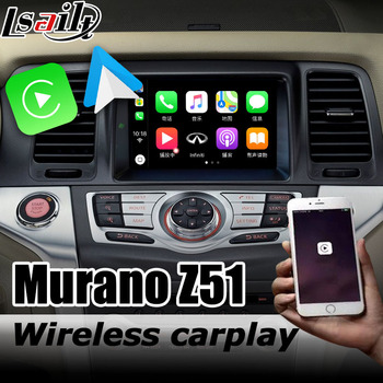 Carplay interface box for Nissan Murano Z51 2010-2014 with 370z Pathfinder Patrol Android auto youtube play image