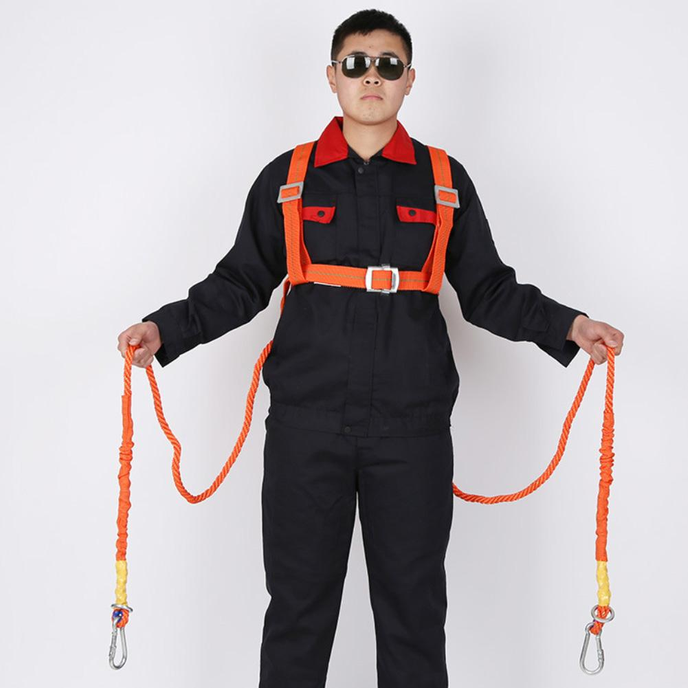Polyamide Alloy Full Body Safety Work Harness Fall Arrest Protective Rope Chain