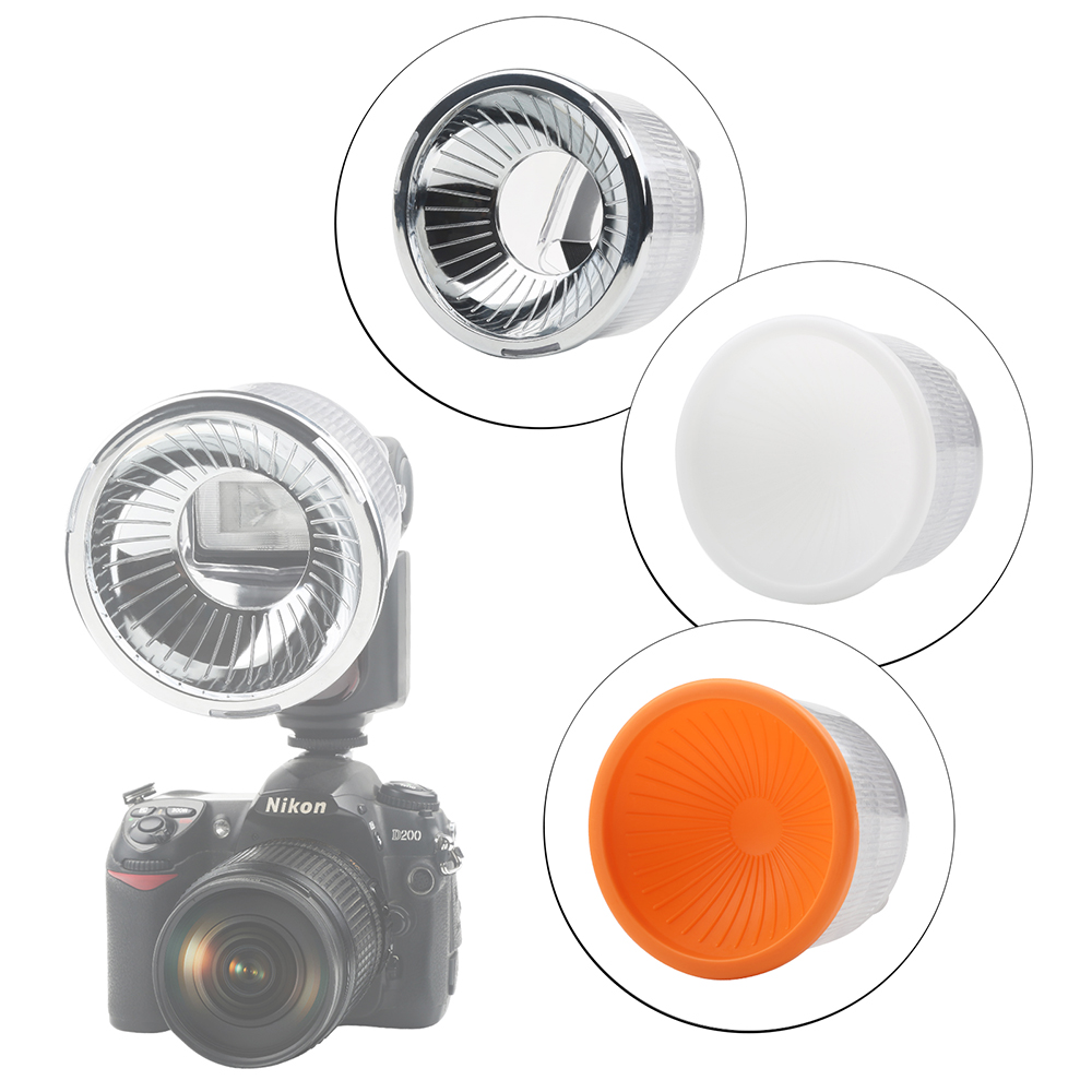 Universal Lambency Flash Diffuser clear for Nikon Speedlight SB-600