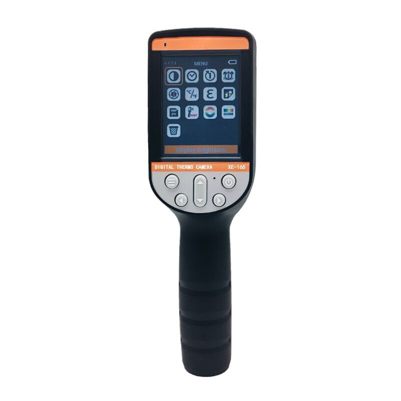 XE-165 Touch Panel Video Thermal Imaging Camera Infrared Thermal Imager 1024 Pixels Temperature Reach <font><b>1000</b></font> <font><b>Degree</b></font> Durable image