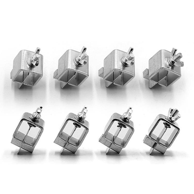 8pcs Stainless Steel Butterfly Valve Welding Clamps Holder Positioner Fixture Weld Holders Tool Alignment Positioner Dropship