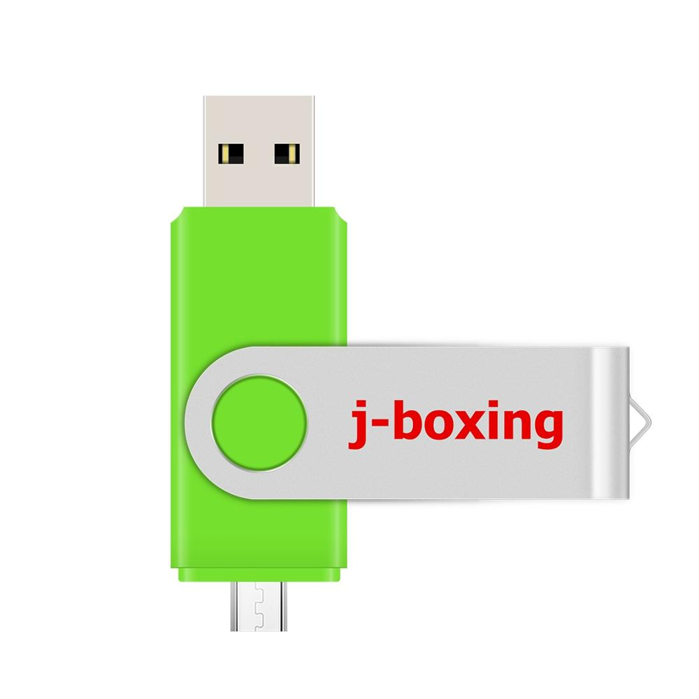 J-boxing OTG USB Flash Drive 64GB 32GB 16GB 8GB Cle USB Pen Drive USB 2.0 Pendrive Flash Disk Micro USB For Android /PC/Samsung