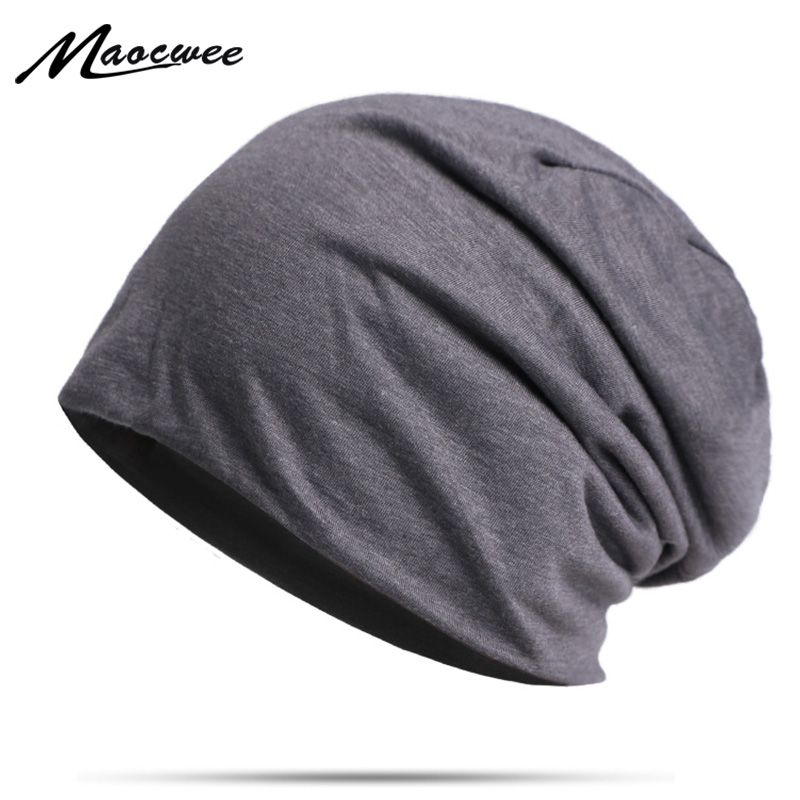 Solid Color Beanie Hat For Men Women Spring And Autumn Hedging Cap Outdoor Sports Thin Windproof Hat Fashion Casual Bonet Hats