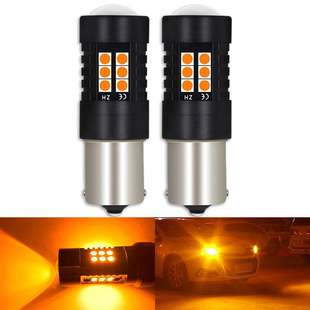2 шт. BA15S P21W 1156 BAU15S PY21W BAY15D P21/5 Вт Автомобильный светодиодный обратный светильник лампочки Canbus Авто Лампа AC/DC 12V 24V 6000K белый цвета красный, желтый|Сигнальная лампа|   | АлиЭкспресс