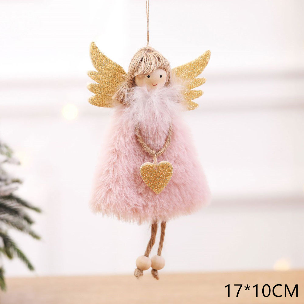 2020 New Year Gift Cute Christmas Angel Doll Xmas Tree Ornament Noel Deco Christmas Decoration for Home Natal Navidad 2019 Decor 21