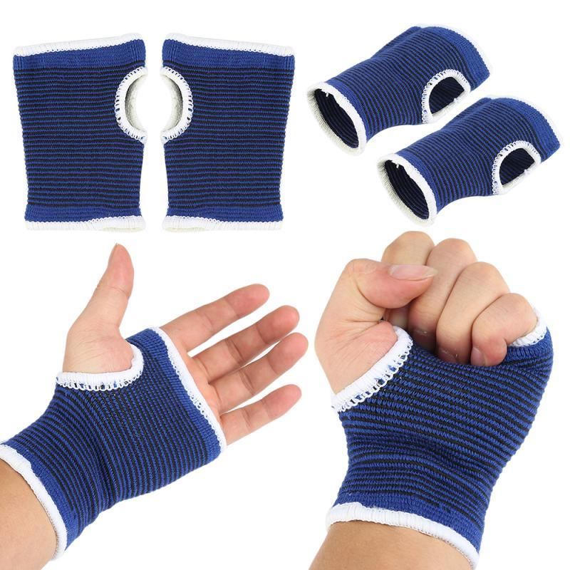 2 шт. Новые Перчатки для фитнеса, мягкий браслет под давлением, защищает мышцы, эластичный Tendonitis, облегчение боли, наручный бандаж, перчатки д...
