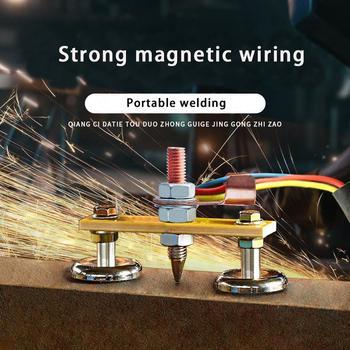 DishyKooker cabeza de soldadura fuerte Coche magnético observador accesorios punto de tierra auto Dent Reparación de piezas de repuesto de la máquina de soldadura
