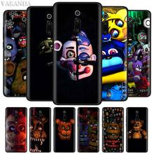 Five Nights At Freddy's Fnaf Freddy Cases for Xiaomi Redmi Note 8 8T 7S 7 6 K20 Pro 8A 7A 6A Shell Black Soft Silicone Cover Coq