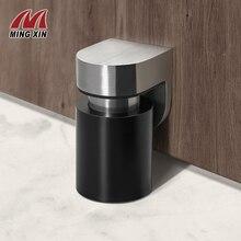 Stainless Steel Door Stop Floating Magnetic Door Stopper Door Limiter Suitable For Family Door Outdoor Door Hotel Door Hardware