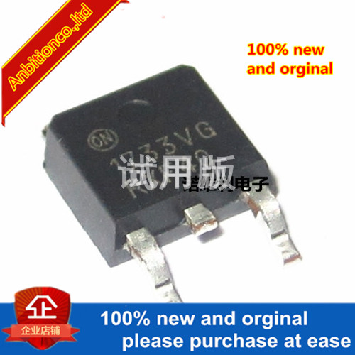 10pcs 100% New Original NCV1117DT33T5G Silk-screen  1733VG TO-252 In Stock