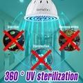 E27 УФ бактерицидная лампа светодиодный 220V E14 UVC бактерицидные лампы светильник светодиодный GU10 дезинфекции убить микробов с защитой от клещ...