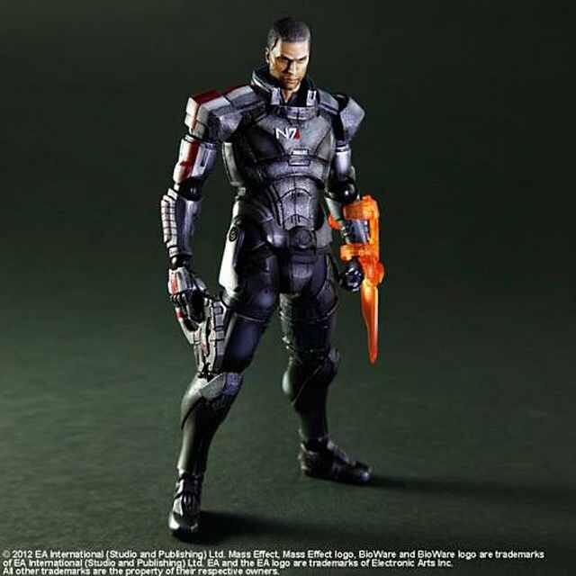 Square Enix Mass Effect 3 Commander Shepard Action Figure 1