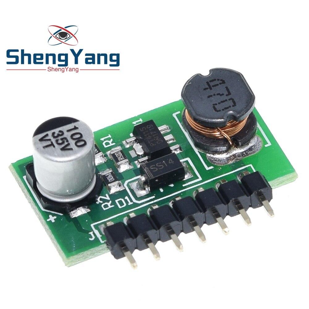 ShengYang 3W cc en 7-30V OUT 700mA lampe à LED Support de pilote PMW gradateur DC-DC 7.0-30V à 1.2-28V abaisseur convertisseur Module