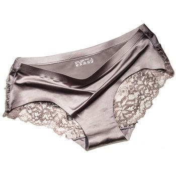 QUCO Brand Sexy Women Underwear High Quality Women Panties Seamless Calvin Underwear Solid Low-Rise Lingerie Underwear Women