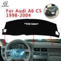PNSL Auto Dashboard Abdeckung Dash Mat Dash Pad Teppich Für Audi A6 C5 1998 ~ 2004 sonnenschutz anti- slip anti-uv