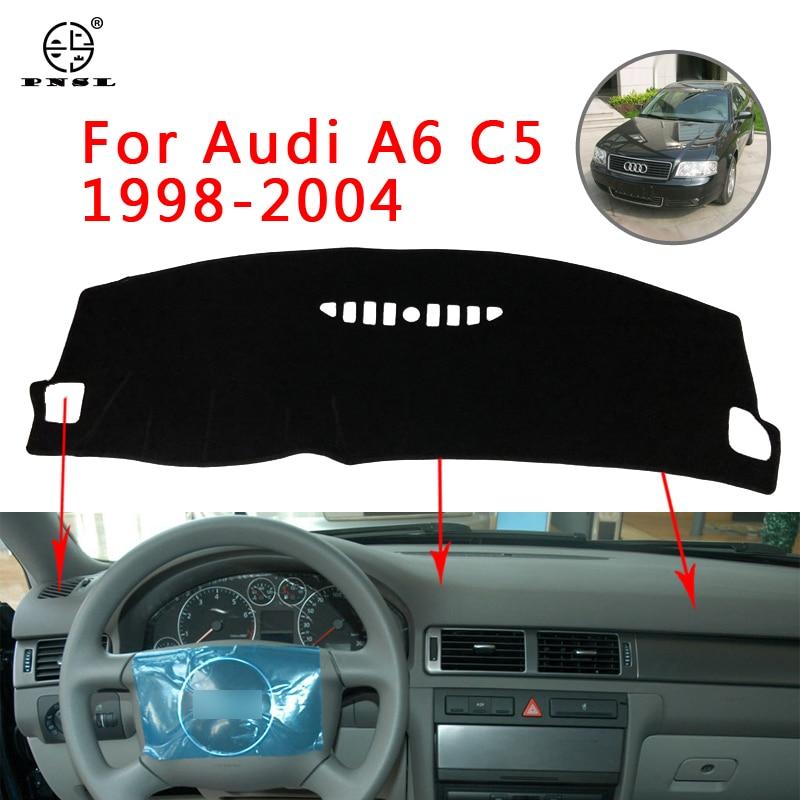 PNSL Car Dashboard Cover Dash Mat Dash Pad Carpet For Audi A6 C5 1998~2004 Sun Protection Anti - Slip Anti - Uv