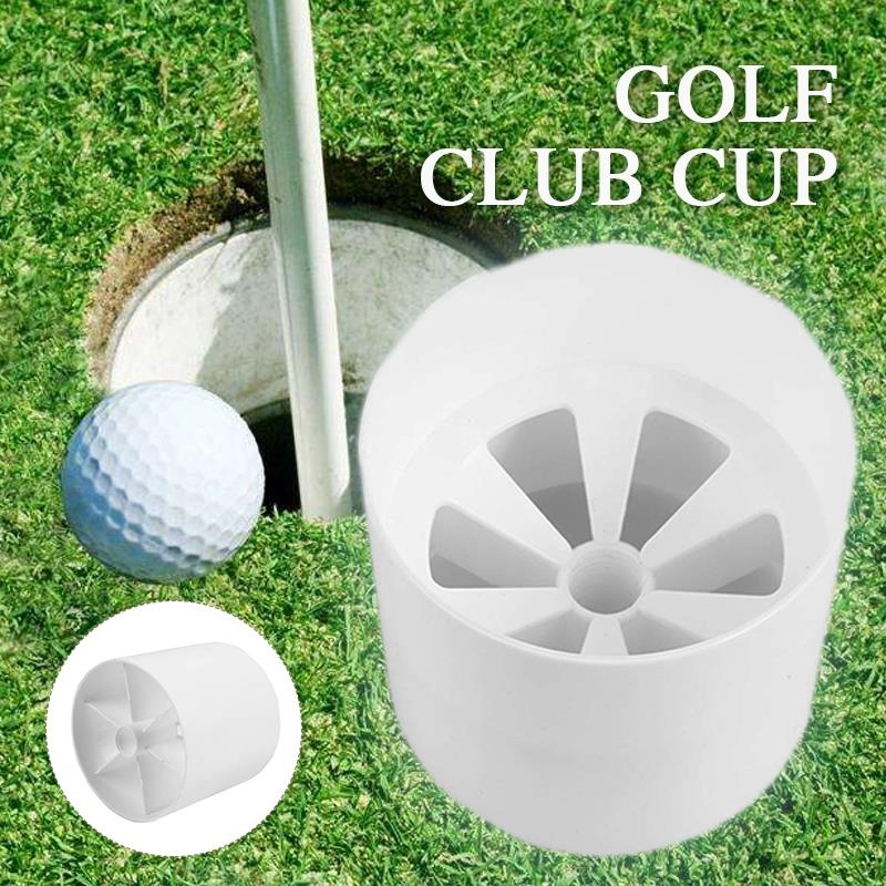 Convenient Plastic Training Club Golf Pole Cup Golf Flag Stick Sport Accessory Golf Hole Cup Practicing Sign Lawn