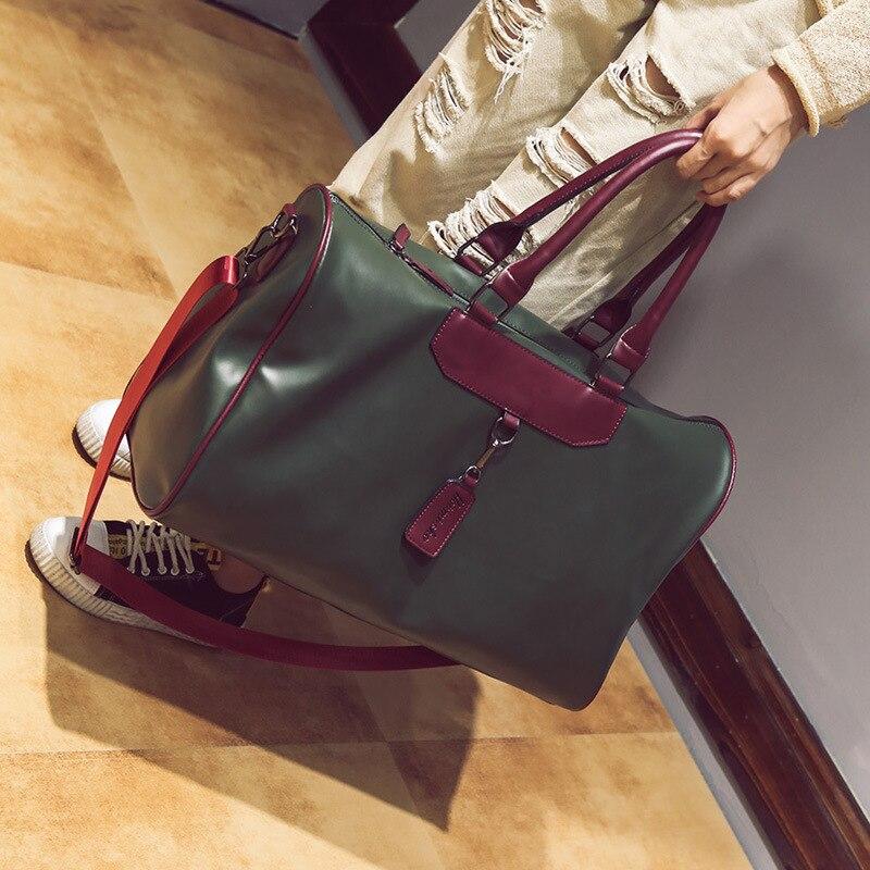 New Fashion Travel Short-distance Travel Bag Unisex Portable Shoulder Crossbody Bag Travel Bag Tide Large Capacity Fitness Bag